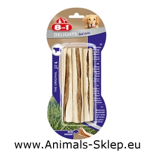 8in1 Delights Beef Sticks 3szt